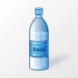 Bottle of soda Stock Images
