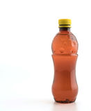 Bottle with soft drink. Onwhite background stock images