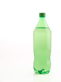 Bottle with soft drink. Onwhite background royalty free stock image
