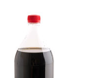 Bottle with soft drink Stock Image