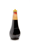 Bottle of soy sauce on background Royalty Free Stock Images
