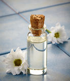 Bottle of Spa essential oils Stock Image