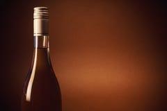 Bottle of Spirit Drink Stock Photo