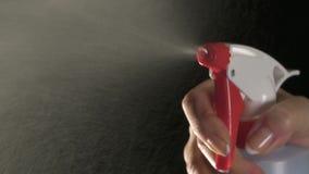 bottle spray arkivfilmer