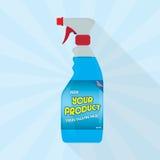 bottle spray Fotografering för Bildbyråer