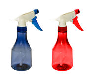 Bottle with spray head Stock Photos