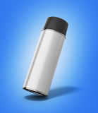 Bottle spray paint or automotive grease white 3d render  Royalty Free Stock Photography