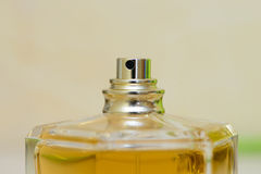 Bottle spray perfume Royalty Free Stock Photos