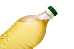 Bottle of sunflower oil Royalty Free Stock Images