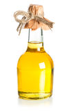 Bottle of sunflower oil Royalty Free Stock Images