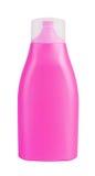 Bottle with suntan cream Stock Image