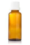 Bottle of syrup medication Royalty Free Stock Image