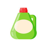 Bottle template blank package container vector Royalty Free Stock Photography