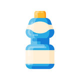 Bottle template blank package container vector Royalty Free Stock Photos