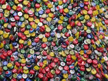 Bottle tops Royalty Free Stock Image
