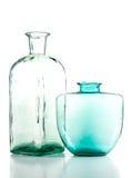 Bottle and vase Royalty Free Stock Image