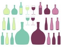 Bottle. Vector illustration (EPS 10 Royalty Free Stock Photo