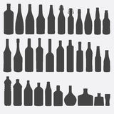 Bottle vector illustration. Stock Photo