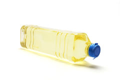 Bottle of Vegetable Oil Stock Photos