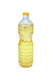 Bottle of vegetable oil Royalty Free Stock Image