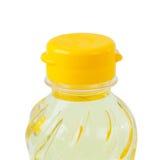 Bottle of vegetable oil Royalty Free Stock Photo