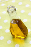 Bottle of vegetable oil or any yellow liquid Stock Photography