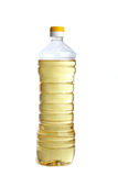 Bottle of vegetable oil isolated Royalty Free Stock Image