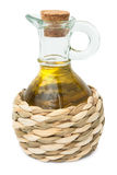 Bottle of vegetable oil Stock Images