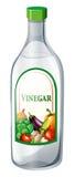 Bottle of vegetable vinegar Royalty Free Stock Photography