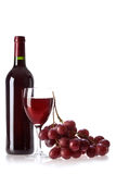 Bottle of vine royalty free stock image