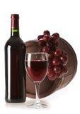 Bottle of vine royalty free stock photos