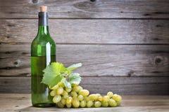 Bottle of vine Stock Images