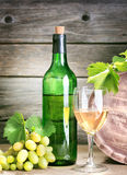 Bottle of vine Royalty Free Stock Photo