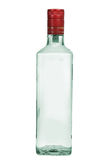 Bottle of vodka. Isolated on white background Stock Images