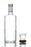 Bottle of vodka Royalty Free Stock Photography