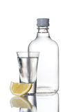 Bottle of vodka Stock Photos