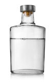 Bottle vodka. Bottle of vodka  on a white background. Clipping Path Stock Images