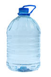 Bottle of water. Plastic bottle of clean water isolated on white background and clipping path Royalty Free Stock Photography
