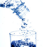 Bottle with water Stock Image