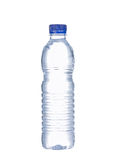 Bottle of water. Isolated on pure white Stock Images