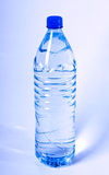 Bottle of water. Photo of an isolated plastic bottle of still water Royalty Free Stock Photography