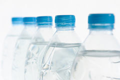 Bottle water. Row of bottle water for your background royalty free stock photo