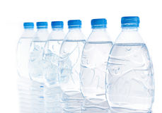 Bottle water. Row of bottle water for your background stock photography