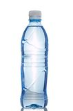 Bottle of water. Isolated on white Stock Photography