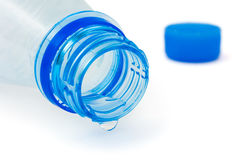 Bottle and water drop Stock Image