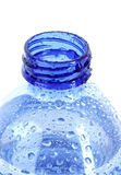 bottle with water drops Stock Photo