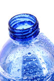 bottle with water drops Royalty Free Stock Images