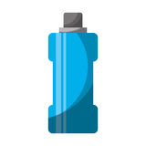 Bottle water gym isolated icon Royalty Free Stock Image