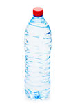 Bottle of water isolated Royalty Free Stock Photos