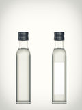Bottle with water isolated on a white background Stock Photos